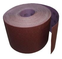 sandpaper,grain 80, 150 mm x 50 m