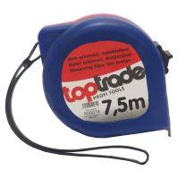 tape measure, 2 brakes,25 mm x 7,5 m