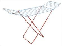 clotheshorse, folding, metal 18m