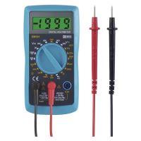 multimeter AC / DC 200mV / 200 V - 600 V, power supply 1 x 9 V
