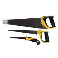 wood saw, ergonomic handle, 3pcs set