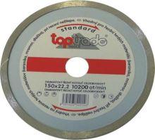 diamond disk,all-round, 125 x 22,2 x 7 mm,standard