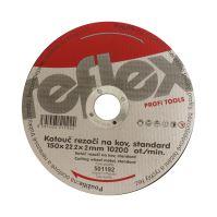 cutting disc,metal ,115 x 22,2 x 2 mm, standard