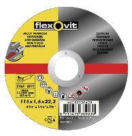 disc Flexovit,universal, 125 x 22,23 x 1 mm, profi