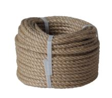 rope twisted ,natural with PP,without core,J-PP, O 16 mm x 20 m, Lanex